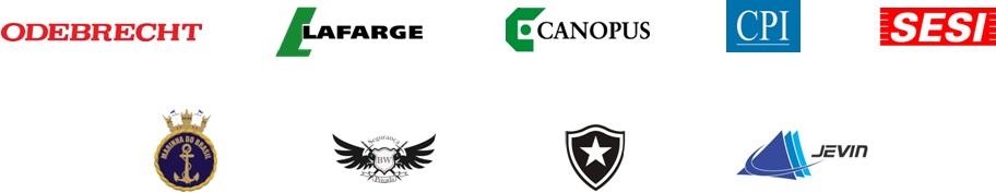 logos - a empresa - principais clientes